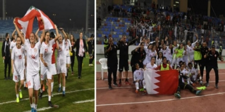 "Lebanon and Bahrain to the ""Waff U18"" final"